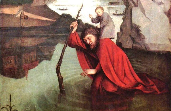 Christoffel en de last op onze schouders – Marian Geurtsen