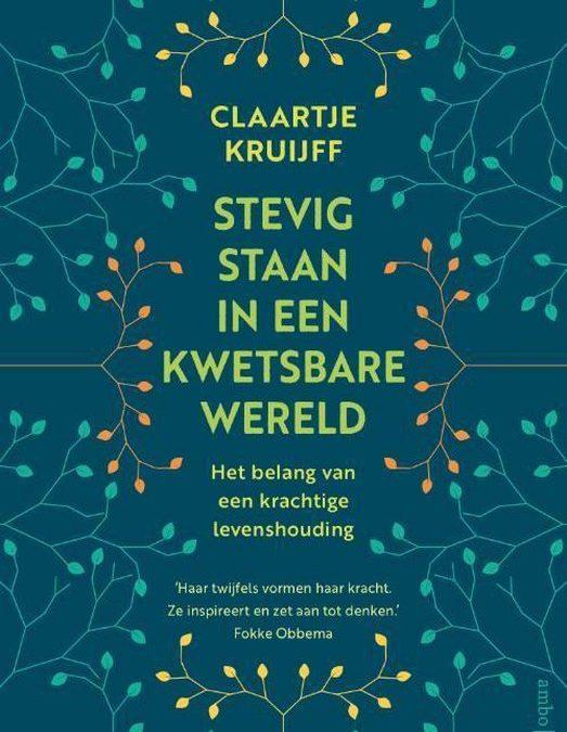 'Uit de tijd', gespreksavond met Claartje Kruijff op 10 maart