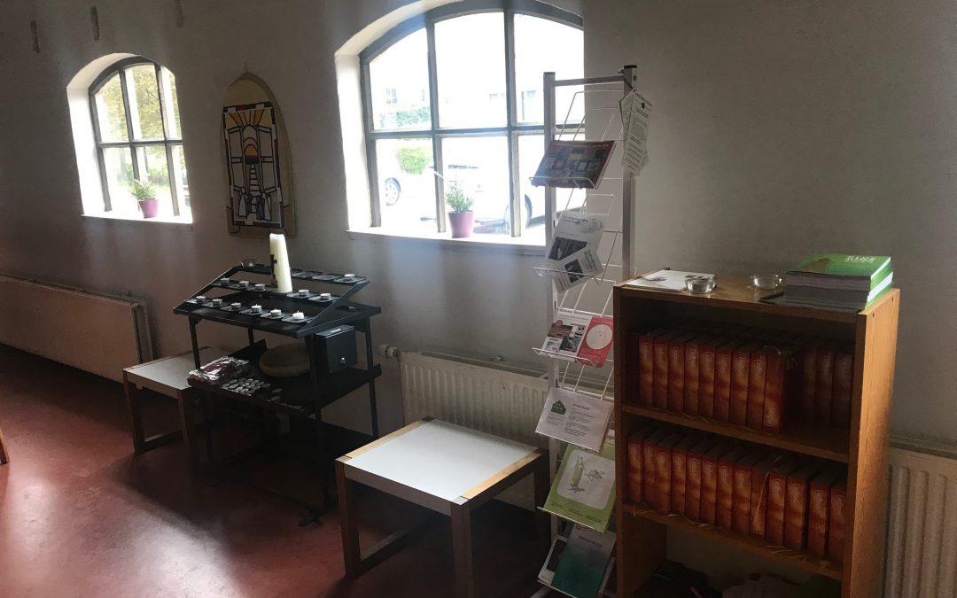 'Kerk in de Hoef' is open op dinsdagen in de maand juli